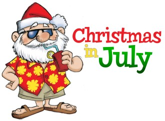 today is the first day of my week long celebration of christmas in july theres going to be ideas for food decorations and more - What Day Of The Week Is Christmas On